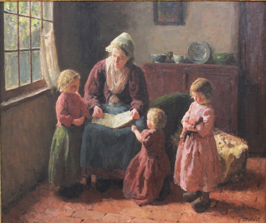 Bernard Pothast, Mother & Children