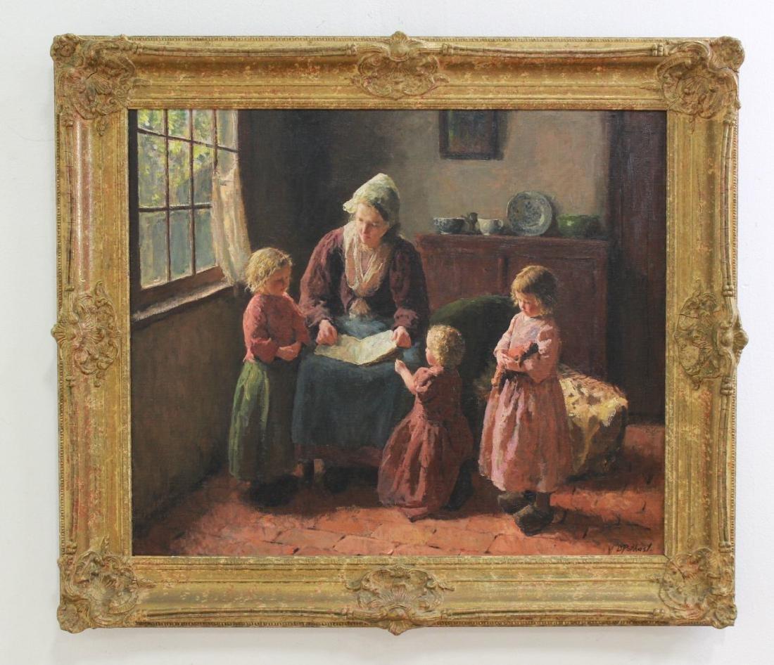 Bernard Pothast, Mother & Children - 2