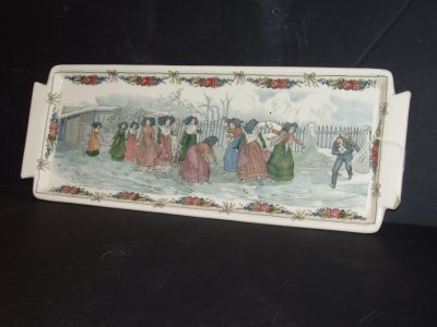 1: SARRIGUEMINES PORCELAIN TRAY