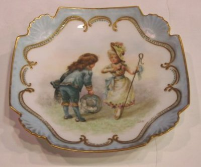 16: FRENCH PLATE WITH BLUE BOY