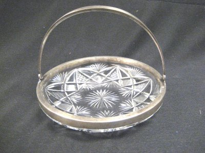565: CUT GLASS BOWL