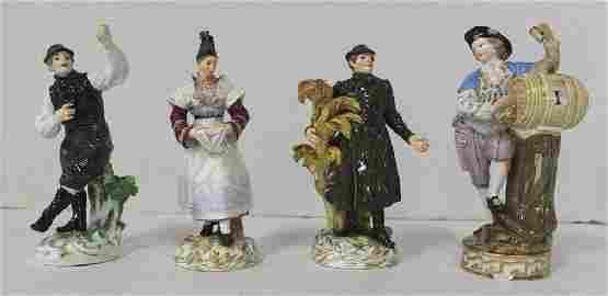 Group 4 Meissen Figures