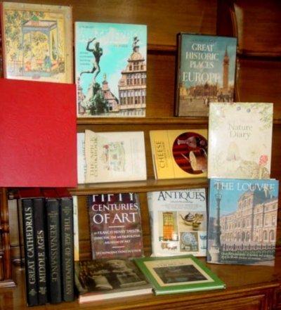 17: BOX LOT OF BOOKS