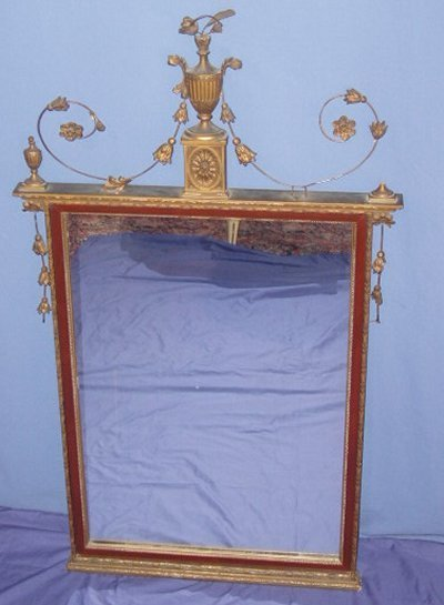31: GOLD REGENCY MIRROR