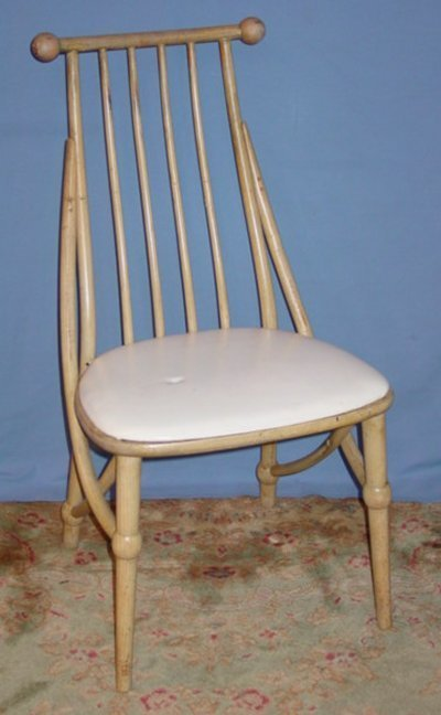 33: PICKLED BENTWOOD CHAIR