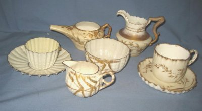 9: GROUP LOT BELLEEK & IMPERIAL GEDDO PORCELAIN