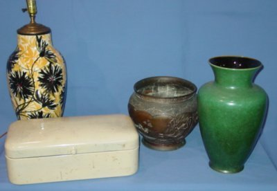 25: ASSORTED LOT OF ANTIQUES
