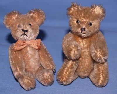 663: 2 TEDDY BEARS ATTRIB. STEIFF