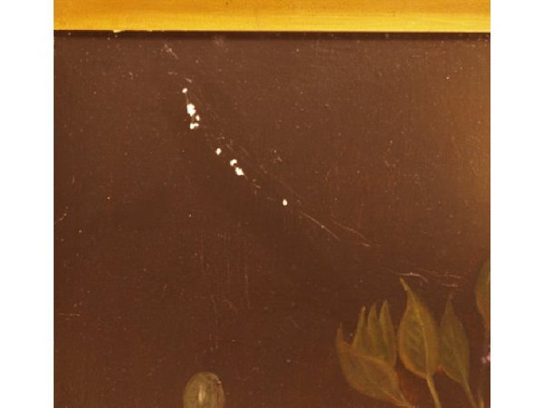 460: Gilt Framed Oil painting Canvas signed H. Antone - 2