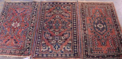 601: Group Lot 3 Hamaden Rugs