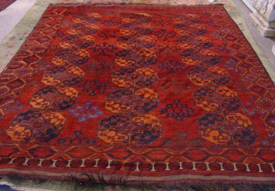 603: Group Lot of 2 Hamaden Rugs