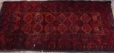 608: Red Bukara Rug