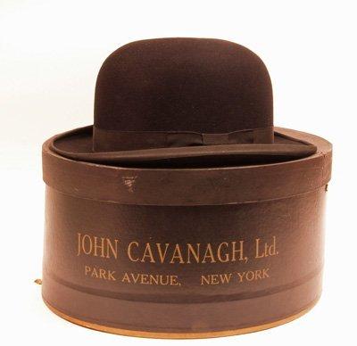 620: Bowler Hat by John Cavanagh Ltd, Park Ave NY