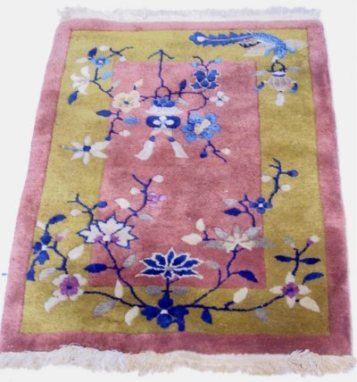 629A: Art Deco Chinese scatter rug