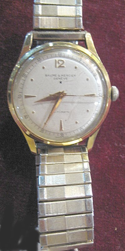 1057: Men's Baume & Mercier wrist watch