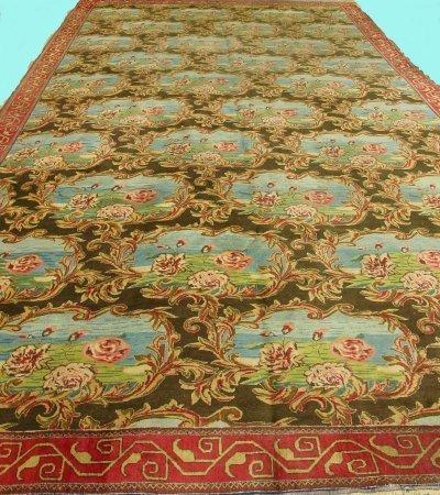 600A: Antique Agra rug