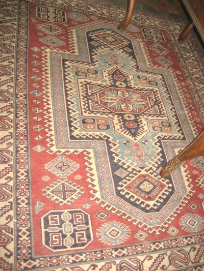 602: Contemporary Kazak rug
