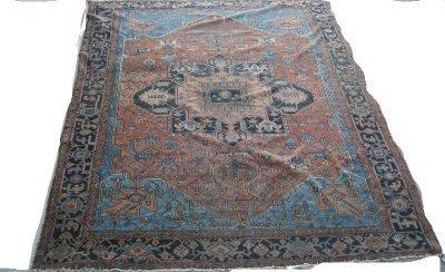 603: Antique Heriz rug Ca. 1920's