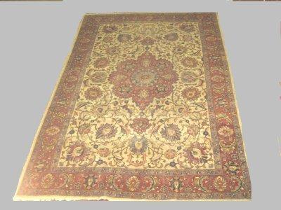 606: Semi-antique Tabriz rug Ca. 1930's