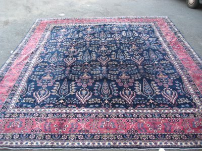 2: Kermin rug from New Jersey estate