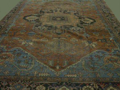 4: Semi antique Heriz rug ca. 1910-20's