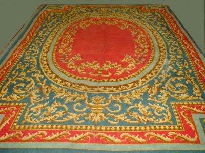 6: French Savonery rug ca. 1930's
