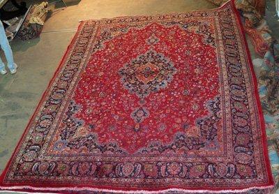 10A: Antique Persian rug