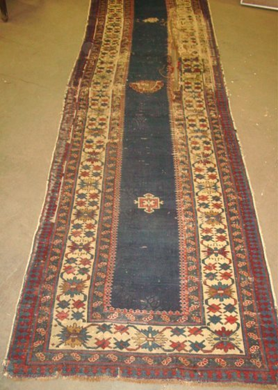 1001A: Antique Kazak rug