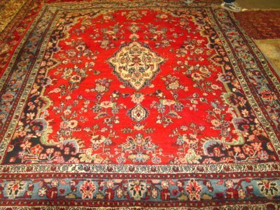 1003A: Hamadan red rug
