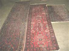 1011: Group lop lot of 3 rugs
