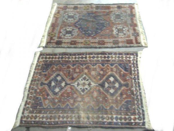 5: Two Shiraz rugs