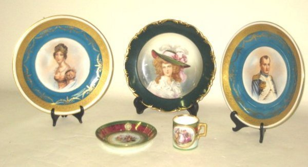 590: Group lot assorted porcelain