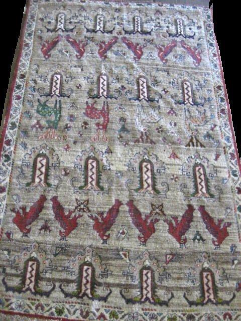 15: Persian Gabbeh rug ca. 1930's