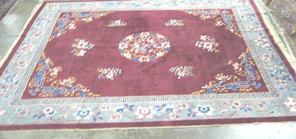 16: Chinese deco rug ca. 1920's