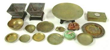 1029: Group lot of assorted Chinese smalls
