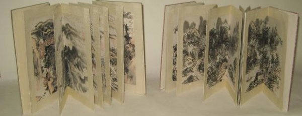 1160: Two books with Chinese pictures