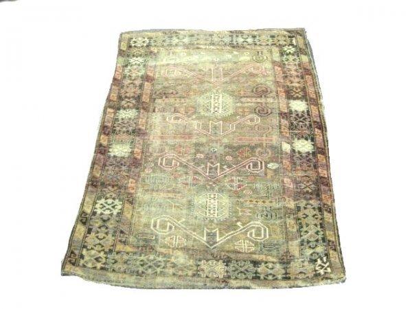 """7: Antique """"Perepedil"""" Caucasian rug"""