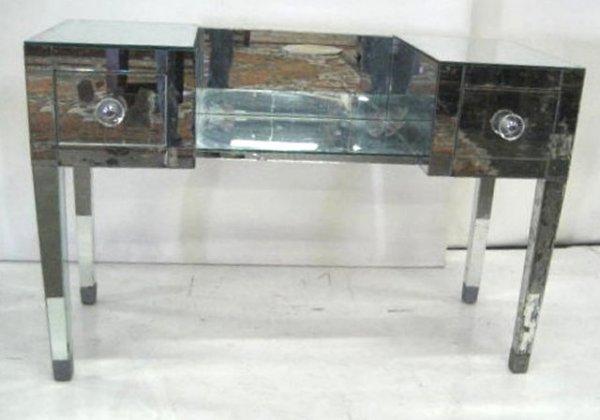 19: Mirrored vanity ca. 1940's