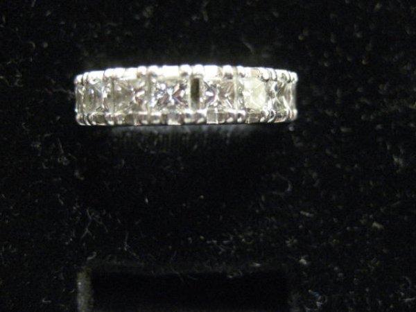 563: Diamond eternity band ring
