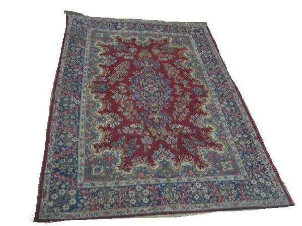 4: Old Oriental rug