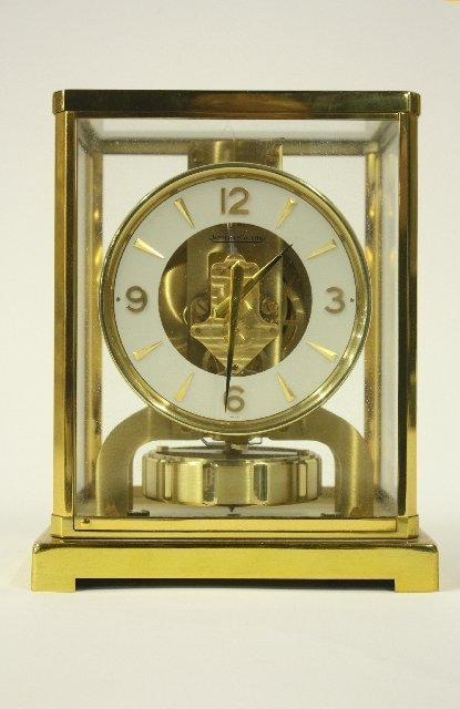 10: LeCoultre clock #120466