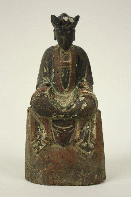 "14: Antique Chinese carved ""Buddha"""