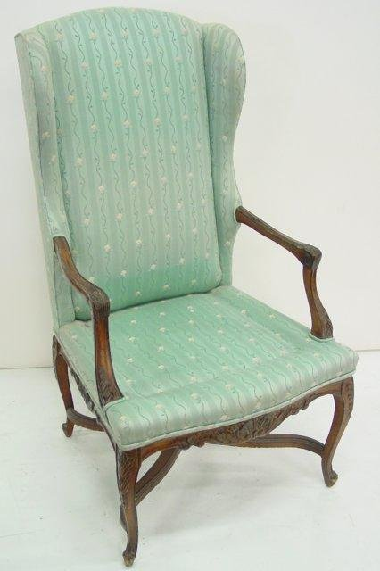 24: Louis XV walnut country french chair