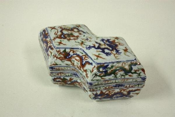578: Ming box Porcelain.