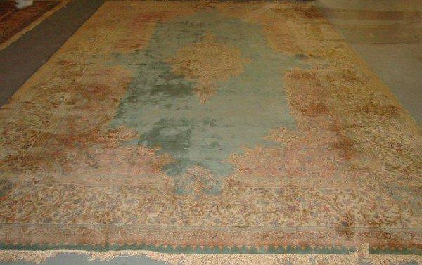 2: Kirmin Persian handmade rug ca. 1960's