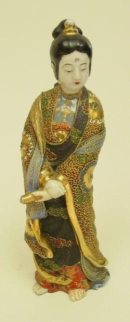 "18: Satsuma figure of ""Woman"""