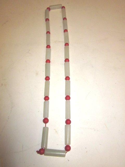 6A: Jade necklace