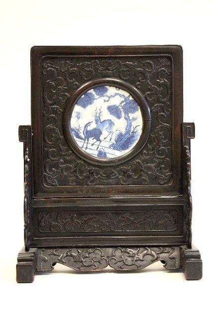 7: Ming porcelain tile