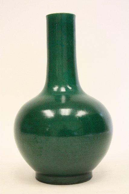 11: Yongzheng apple green vase