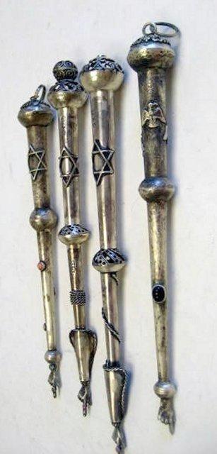 512: 4 Torah pointers (Yads)